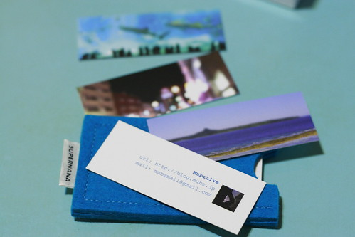 MOO mini card & card case