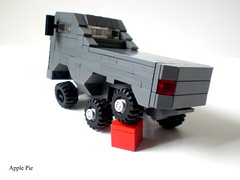 rear (Apple - Pie) Tags: 6x6 truck lego trialtruck