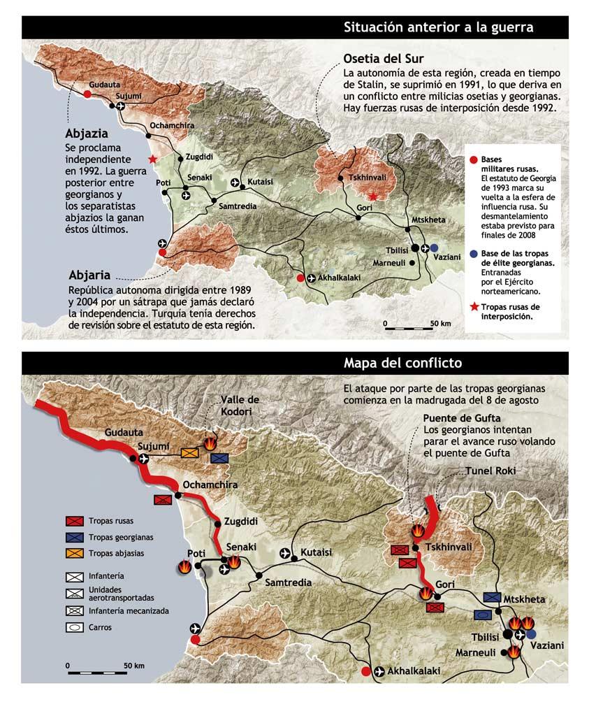 La guerra de Georgia