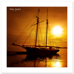 Golden Serenitude (Imapix) Tags: sun canada art nature sailboat canon photography gold golden boat photo foto photographie image quebec qubec bateau voilier imapix gaetanbourque 100commentgroup vosplusbellesphotos awardedbipg imapixphotography gatanbourquephotography