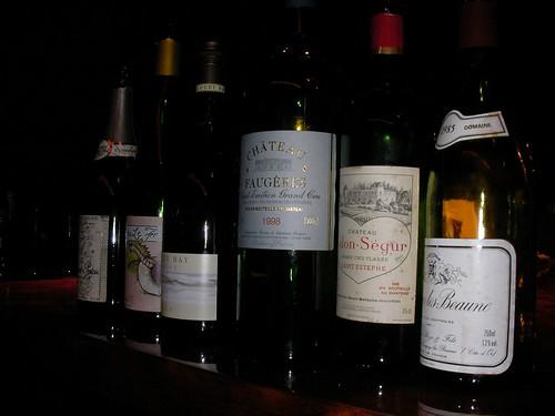 LA BOUCHE ワイン会 2009-03