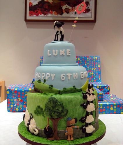 shaun the sheep cake 2