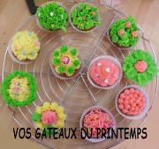 Vos gâteaux de printemps