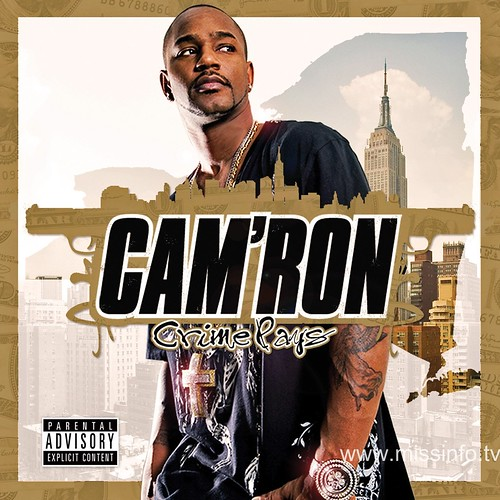 Cam'ron Crime Pays album cover,