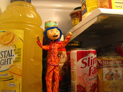My Coraline Doll! (cairnterrier77) Tags: food film kitchen movie fridge funny doll buttons button animation neilgaiman stopmotion coraline stopmotionanimation kitchenfridge henryselick coralinemovie coralinedoll coralinefilm happycoralinedoll coralinemoviedoll