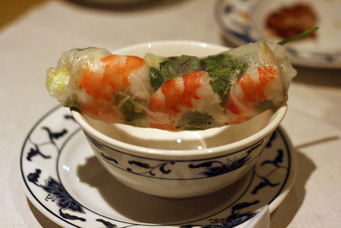 Prawn summer roll