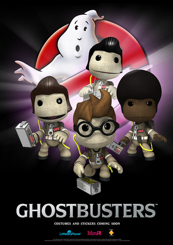 LittleBigPlanet Ghostbusters Poster