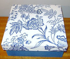 Caixa Azul (Colelo Art Decor) Tags: artesanato caixa mdf