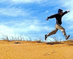caminata lunar (.el Ryan.) Tags: art argentina may mendoza fractal dibujo imprimir altoslimpios