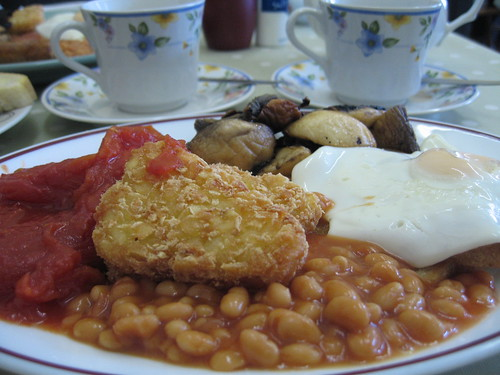 Veggie fried breakfast, Walton on the Naze