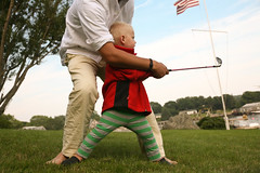 fore (sgoralnick) Tags: golf maine neil charlie boothbay boothbayharbor babygolf