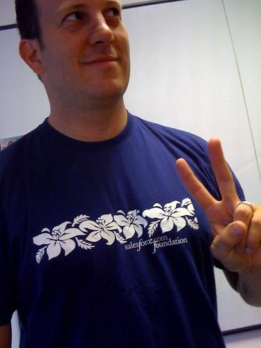 Michael Gonzales, salesforce.com Evangelist