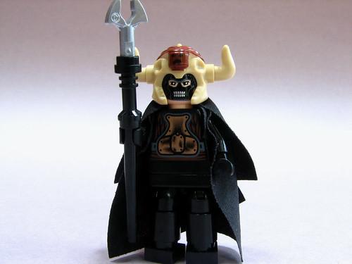 Warlock custom minifig