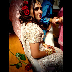 Rooshan (Ghosia Ahmed) Tags: flowers wedding roses flower girl rose asian bride engagement tears sitting sad crying marriage pakistani shaadi cry tear shadi nikah dulhan ghosia rooshan ghosiaahmed