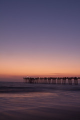 Sunset at the Pier (Will Hastings) Tags: sunset beach pier hermosabeach