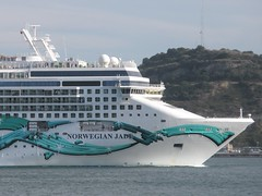 Norwegian Jade in Lisbon Again