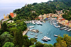 Choose your Boat &  House in Portofino (! .  Angela Lobefaro . !) Tags: travel italien flowers blue trees sea sky italy panorama house seascape church nature water leaves architecture clouds canon butterfly landscape boats bay boat interestingness europe italia mare peace village gulf view action harbour yacht pov quality patterns liguria ligury butterflies kirche himmel wolken kirchen peaceful unesco bleu chiesa explore papillon genoa genova cielo nubes vista getty yachts blau landschaft frontpage portofino idyllic farfalla italians schmetterling isola explored i500 natuzzi bestphotosonflickr holidaysvacanzeurlaub angiereal angelamlobefaro thesuperbmasterpiece riproduzioneriservata