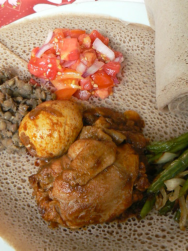 Doro Wat - Stewed Chicken