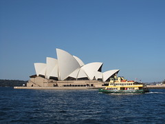 The Sydney Opera House and Harbour Ferry (jdf_92) Tags: ferry architecture harbour sydney australia unesco newsouthwales operahouse sydneyharbour sydneyoperahouse