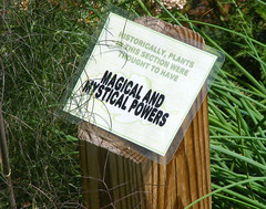 Magical Powers (FrogBum) Tags: flowers signs history garden michigan detroit monarch mystical magical shelbytwp shelbytownship riverbendspark riverbends shadbushnaturecenter