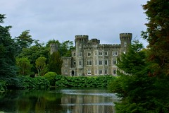 Johnstown Castle (Athena's Pix) Tags: trees ireland sky lake building castle water lens iso 1870mm 250 johnstown f200 cowexford 180s sonya350