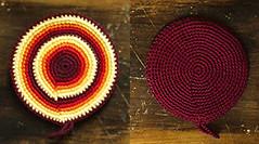 Agarradera Bordó (à la pipetoi) Tags: crochet regalo presente agarradera