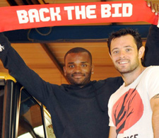 Darren Bent and Andy Reid