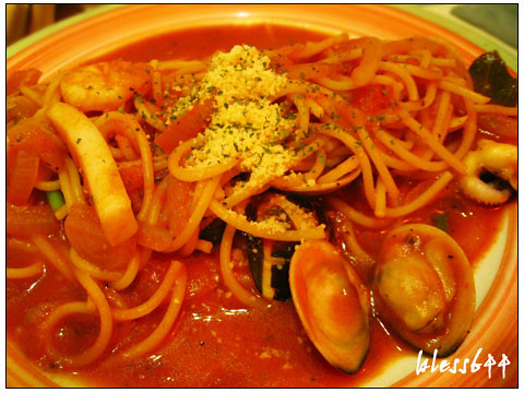 羅勒蕃茄輕飲食-海鮮蕃茄