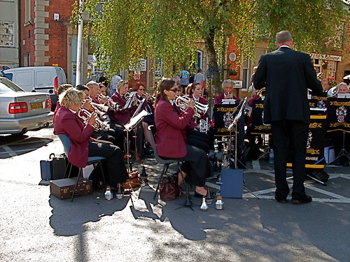 Alford Silver Band - Bank Holiday Market Place
