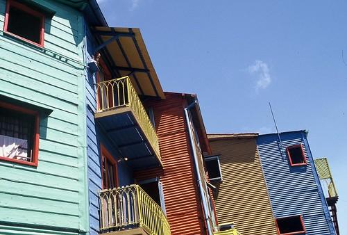 Fasader från La Boca, Buenos Aires