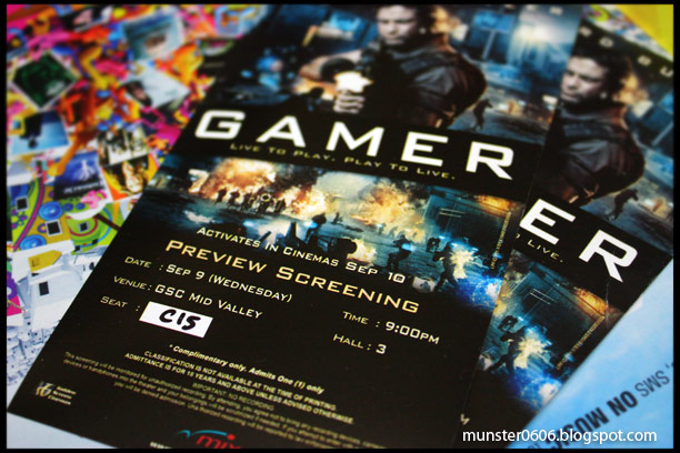 Preview Screening of Gamer.