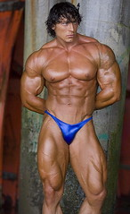 18 (bb-fetish.com) Tags: muscle posing posers trunks bodybuilder bulge