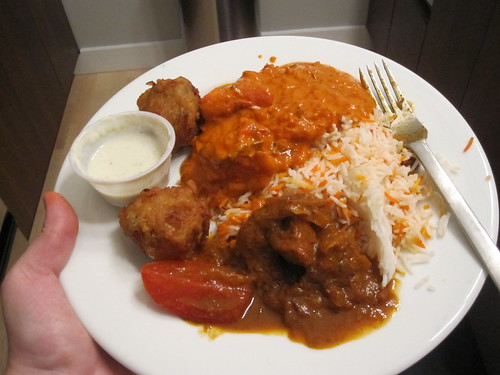 Indian dinner for two - $35 with tip