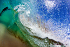 Split ( KristoforG) Tags: ocean water canon photography hawaii diy sand surf underwater pacific tube wave clear tsunami housing tidal gellert sandybeach kristofor toob waterhousing
