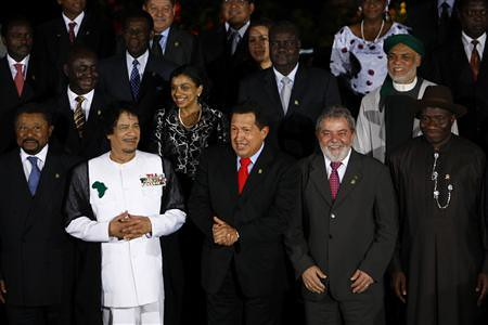 African and Latin American leaders present at the summit in Venezuela to build bridges between the two continents. Both Africa and Latin America share a common history, heritage as well as contemporary situation. by Pan-African News Wire File Photos