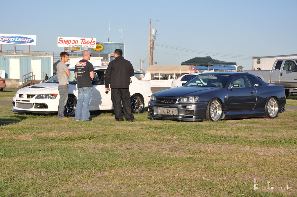 Jason Oefelein drove the R34 Skyline to BOTI