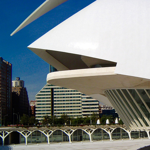 Detail Valencia Opera House, by jmhdezhdez
