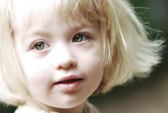 Iona (arsalan.) Tags: portrait baby girl closeup kid eyes backyard nikon child little iona selectivecoloring d80