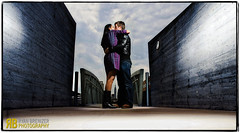 Love in the time of Composites (Ryan Brenizer) Tags: nyc newyorkcity wedding woman man sexy love composite brooklyn engagement nikon kiss flash greenpoint d3 strobist sigma24mmf18