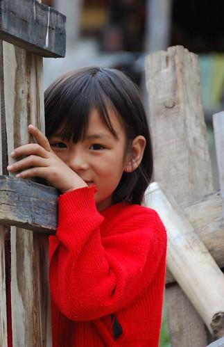 a little bhutan girl :)