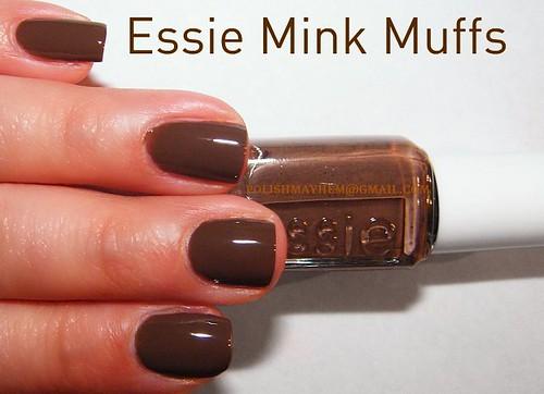 Essie Mink Muffs