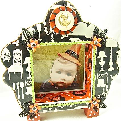 Jen Perkins Spooky Shrine