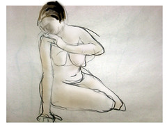 cutout2 (Zannie Gunn) Tags: sketch nudes lifedrawing paintover