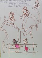 20090420-zozo畫去動物園看猴子