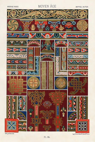 015-Ornamentos policromados Edad Media2-Das polychrome Ornament…1875