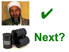 Osama's Gone, Is Oil Next?