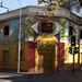 Cafeteria Ali Baba nel barrio Bellavista in Santiago