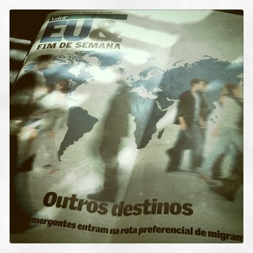 """""""Economias emergentes entram na rota preferencial de migrantes"""", afirma Valor (e Brasil é destino bem cotado)"""