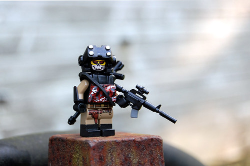 Custom minifig Special Operations 71
