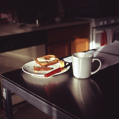 breakfast (scotteverett) Tags: 120 film mediumformat photo getty exakta biometar exakta66 ishpop exakta66modii scotteverett httptwittercomscotteverett